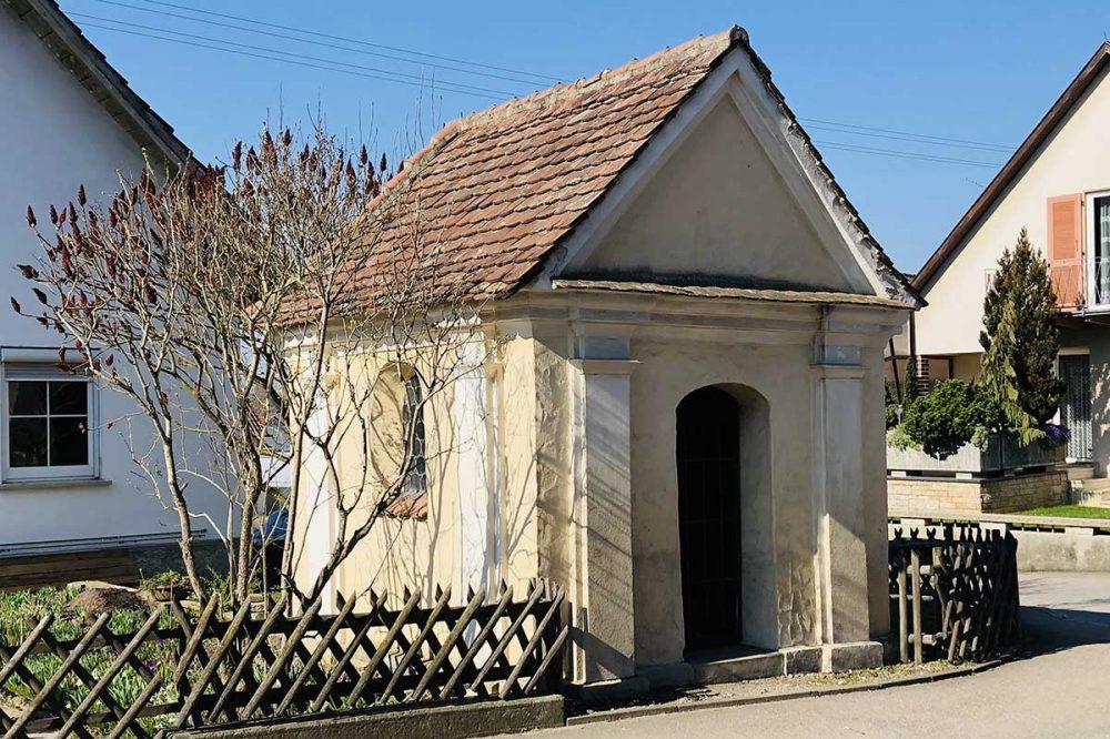 Die St. Blasius-Kapelle in Burgrieden-Rot
