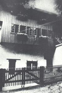 Rückseite eines historischen Gebäudes
