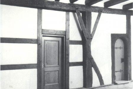 Innenraum eines Fachwerkhauses