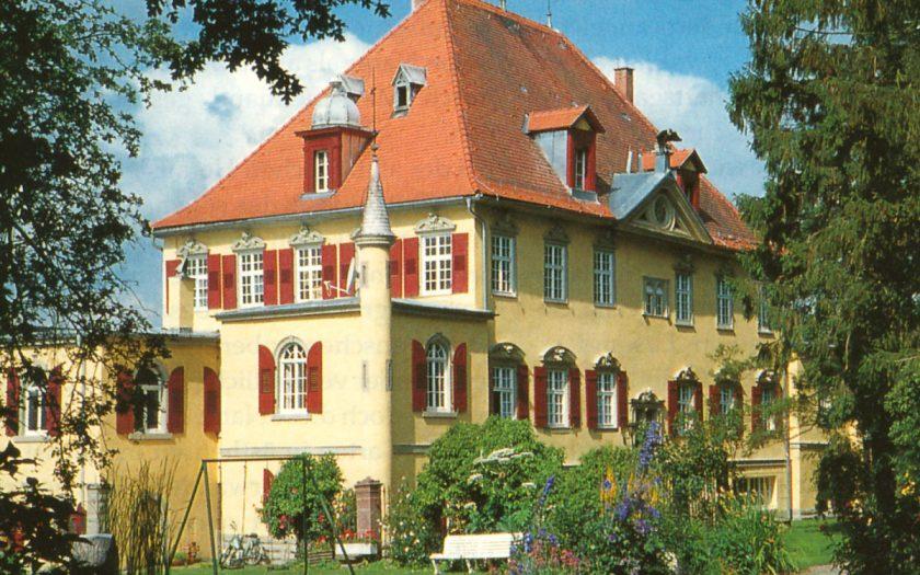 Schloss von der Gartenseite