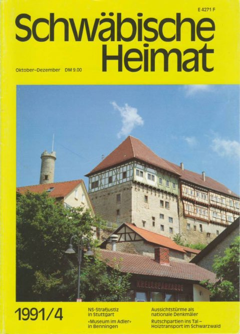 Titelseite einer Zeitschrift