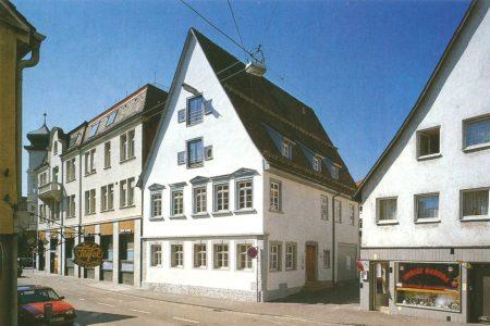 Außenansicht eines historischen Gebäudes