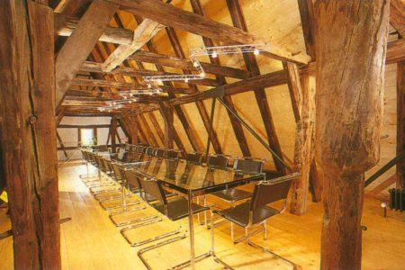 Innenraum in historischem Gebäude