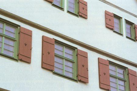 Fenster eines historischen Gebäudes