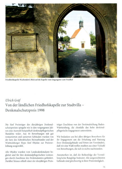 Seite in einer Zeitschrift