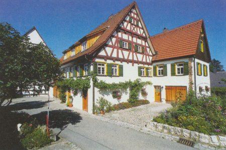 Hofanlage mit Fachwerkhaus