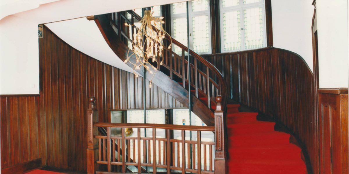 Treppenhaus in einer Villa