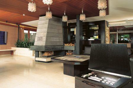 Innenraum einer modernen Villa