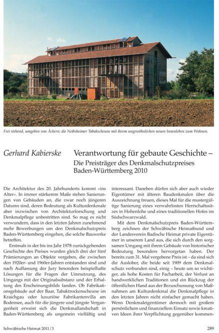 Titelblatt eines Artikels