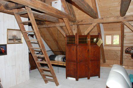 ausgebauter Dachraum in einemFachwerkhaus