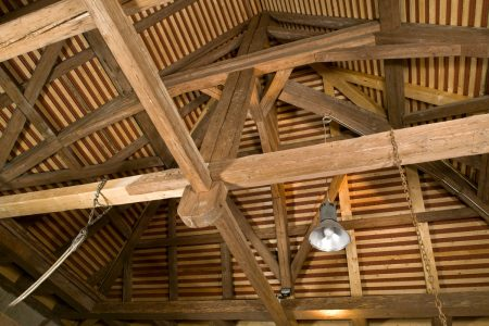Dachwerk aus Holz
