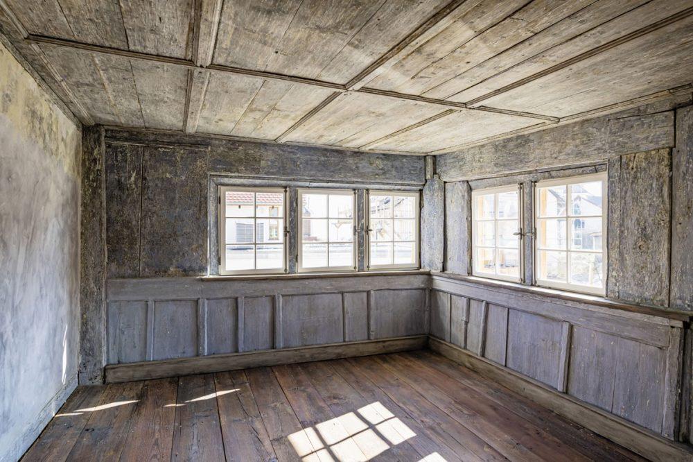 historische holzgetäferte Wohnstube