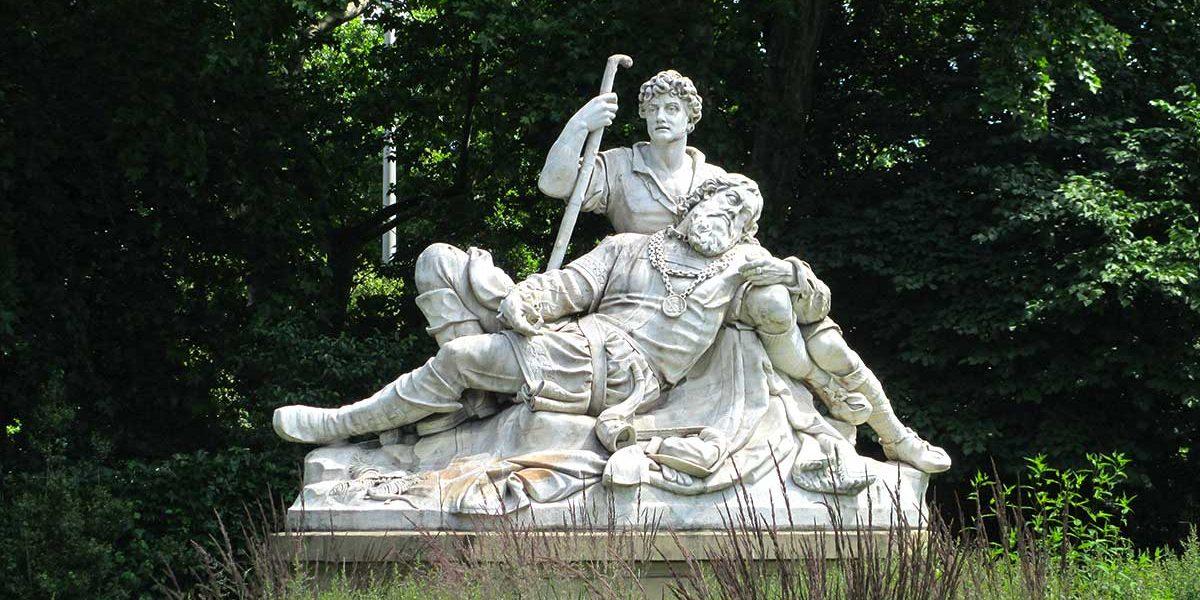 Eberhard I. - Denkmal im Schlossgarten Stuttgart