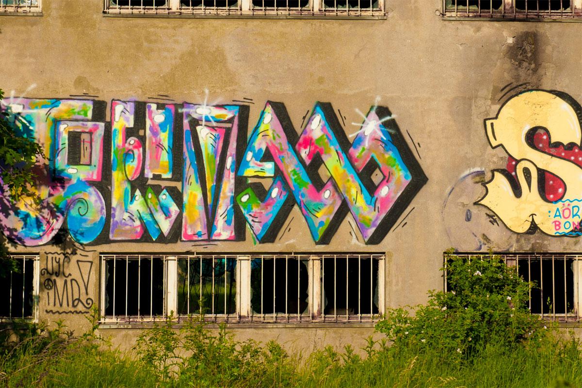 Graffiti! Ist das Kunst? Oder kann das weg?
