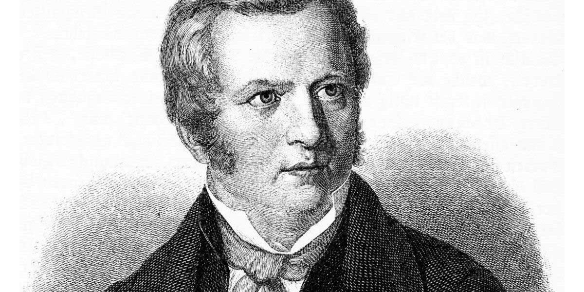 Porträt Gustav Schwab