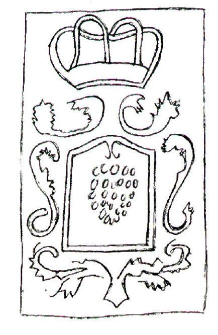 gezeichnetes Wappen