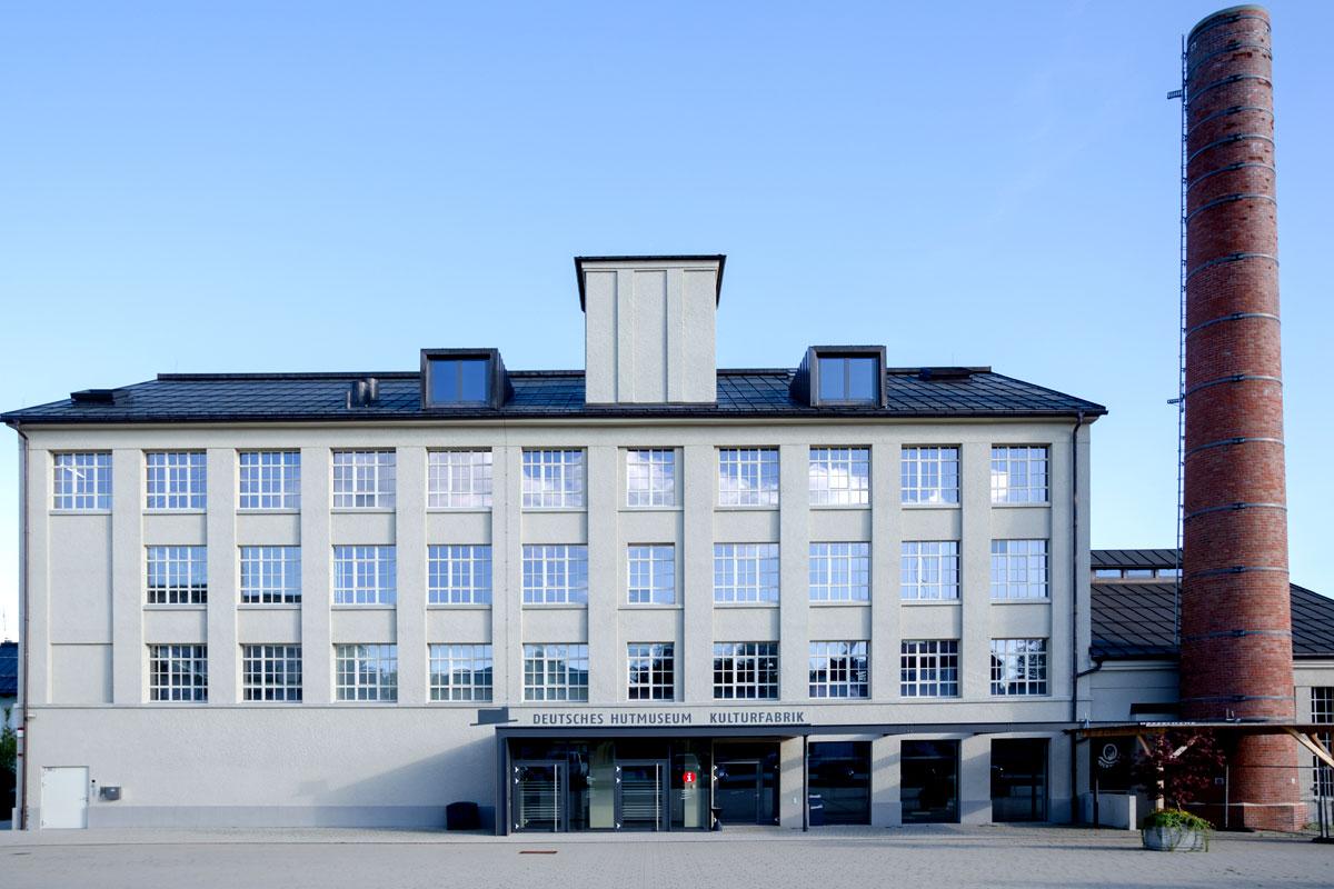 Bedeutende Standorte der Textilindustrie im Allgäu