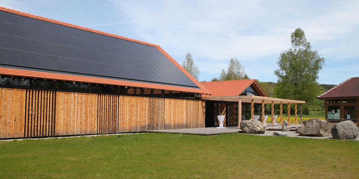 Gebäude aus Holz