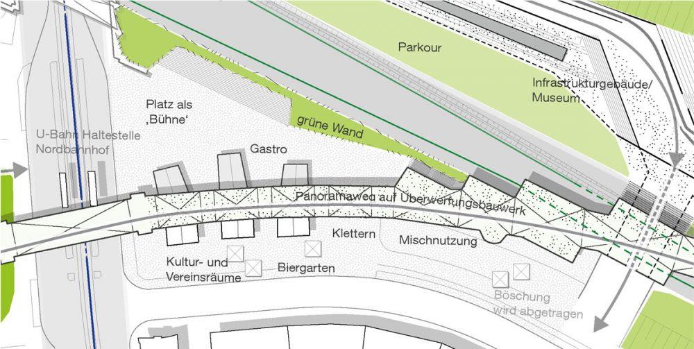 städtebauliche Planzeichnung