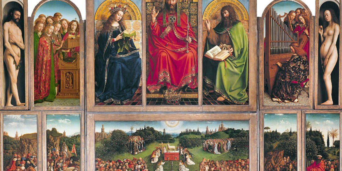 Von Jan van Eyck - Web Gallery of Art: Abbild Info about artwork, Gemeinfrei, https://commons.wikimedia.org/w/index.php?curid=109213