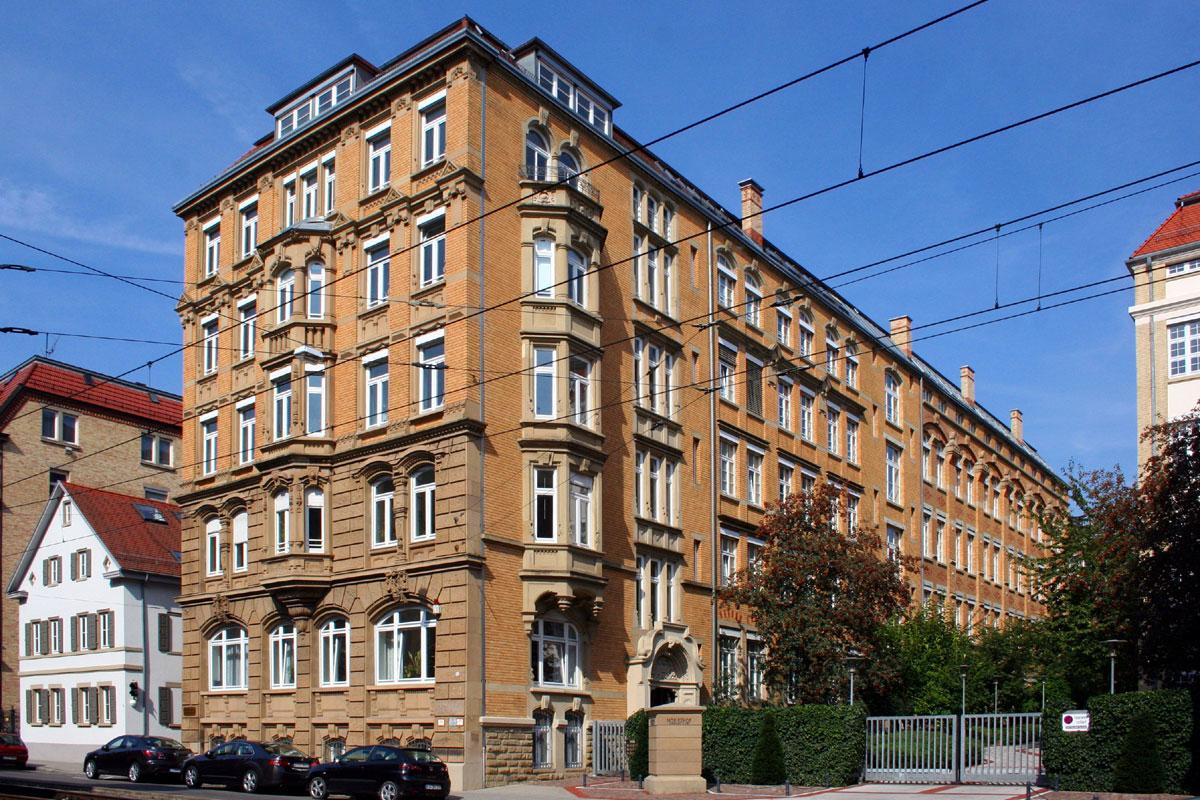 Ehemalige Fabrikbauten des 19. und frühen 20. Jahrhunderts in Stuttgart-Heslach