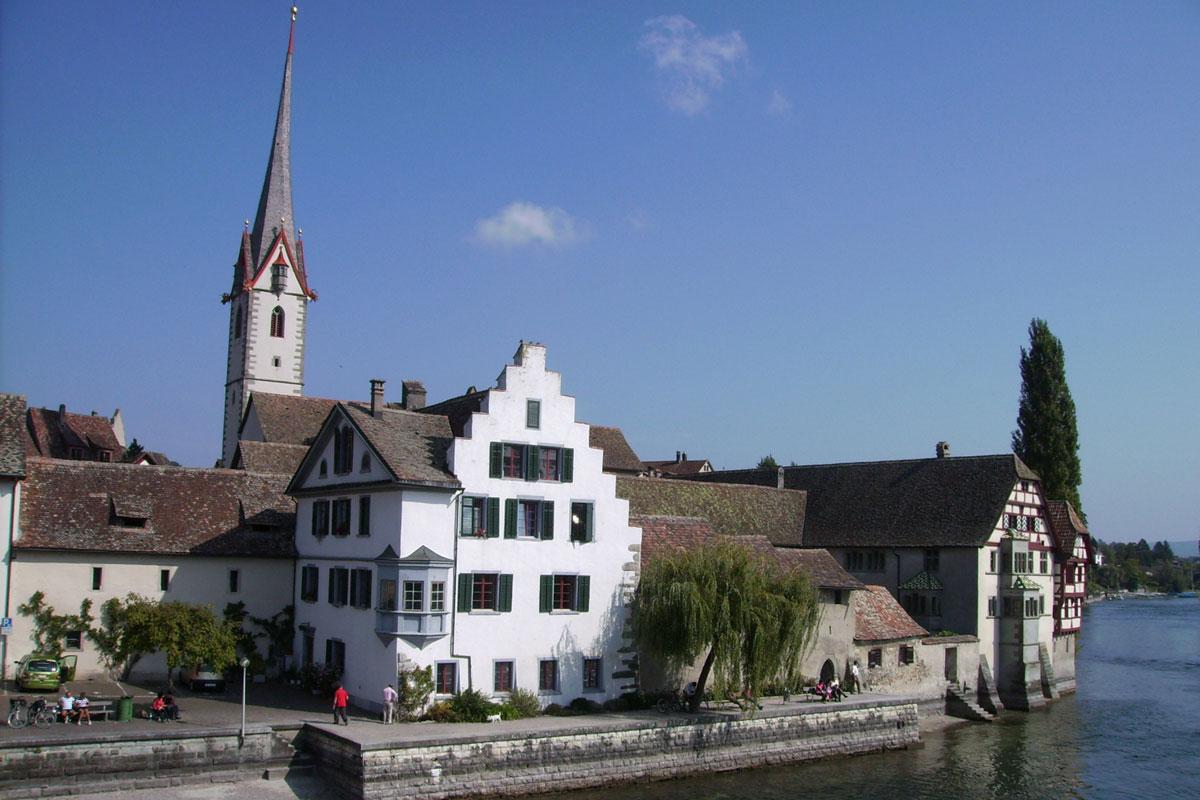 Geschichte(n) von der deutsch-schweizerischen Grenze von Konstanz bis Schaffhausen
