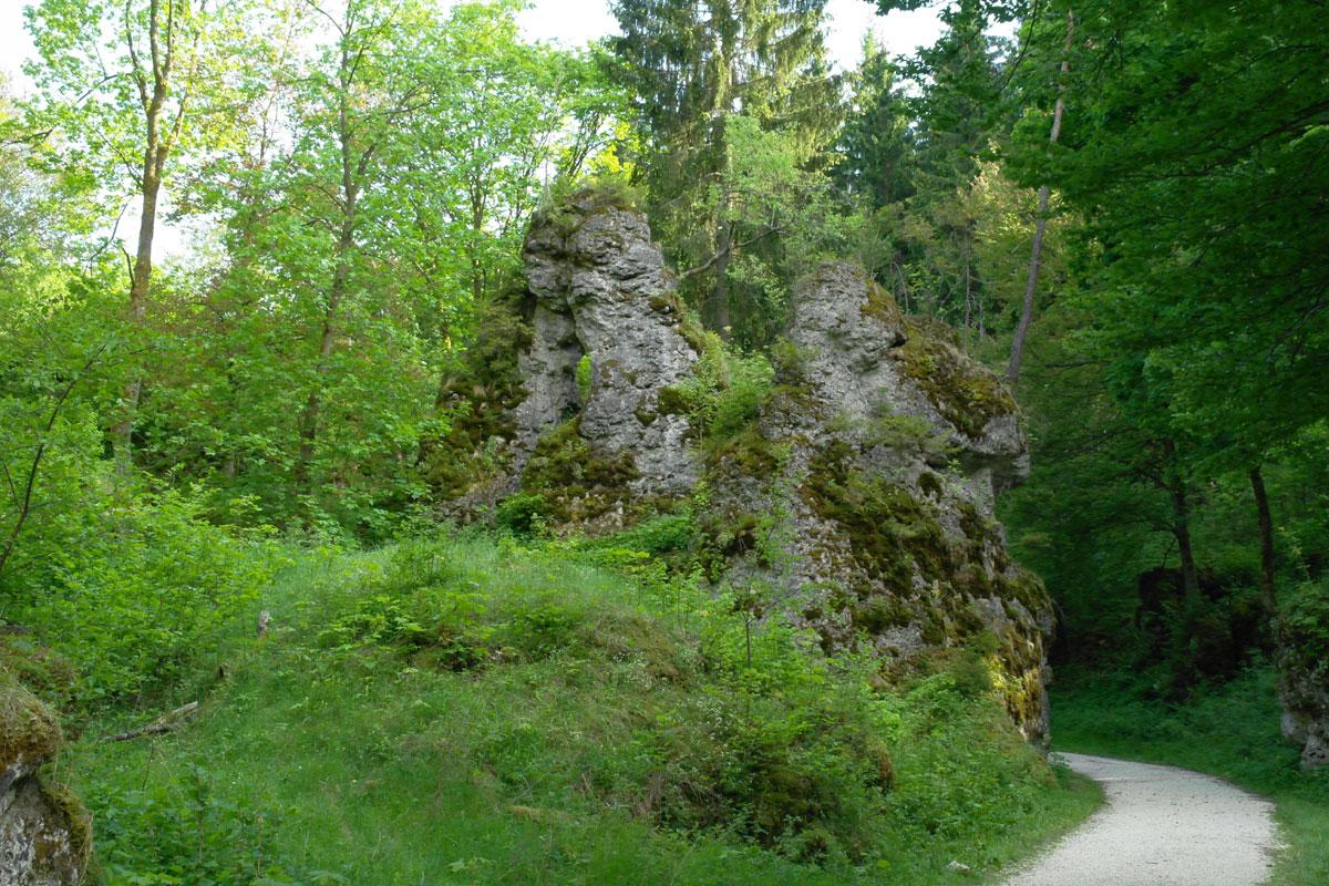 Blumenmeer und Felsenmeer im Ostalbkreis