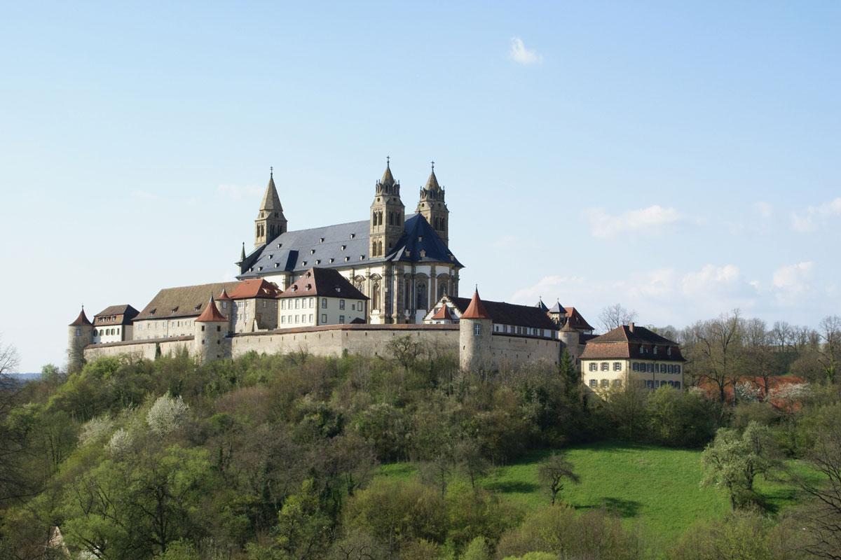 Von Hessental über die Comburg nach Schwäbisch Hall - Landesgeschichtliche Wanderung