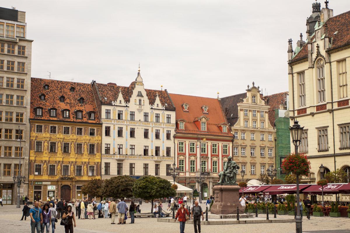 Von Breslau nach Wrocław – eine europäische Stadt erfindet sich neu