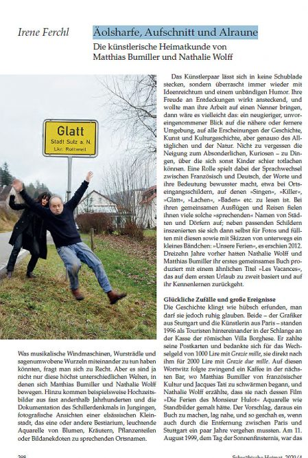 erste Seite eines Zeitschriftenartikels