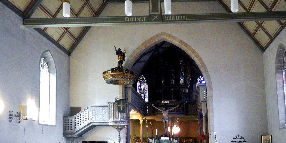 Innenasicht einer Kirche