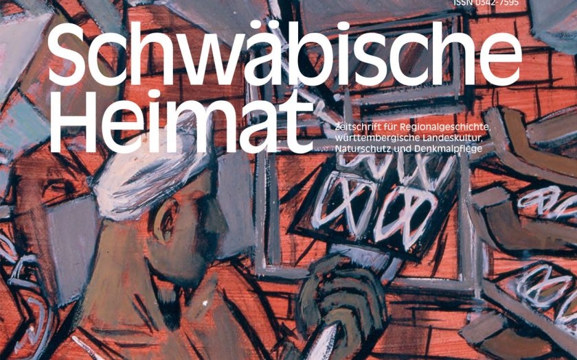 AUsschnitt aus einem Gemälde als Titel einer Zeitschrift