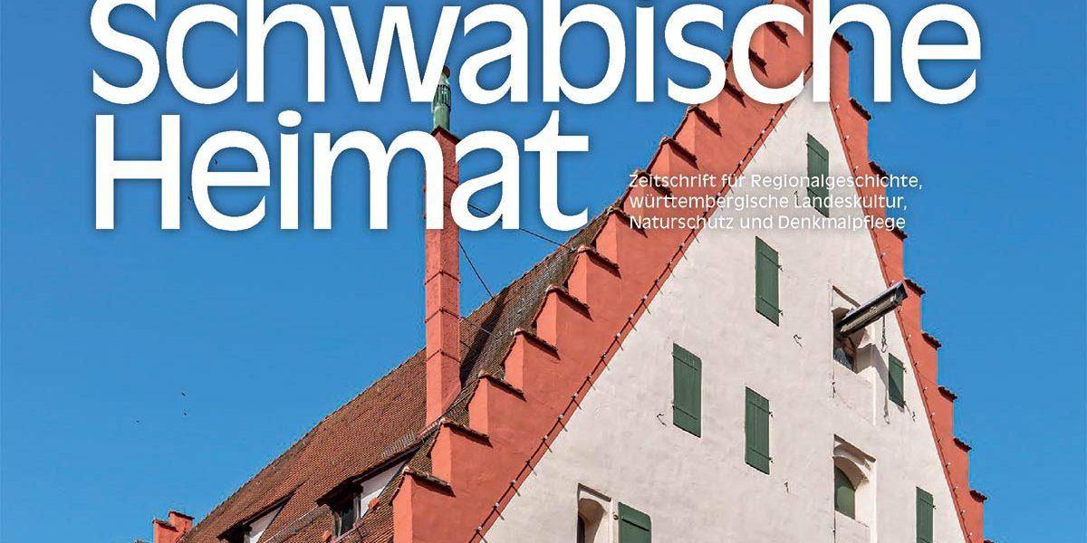 Gioebel eines histroischen Gebäudes auf dem Titelbild einer Zeitschrift