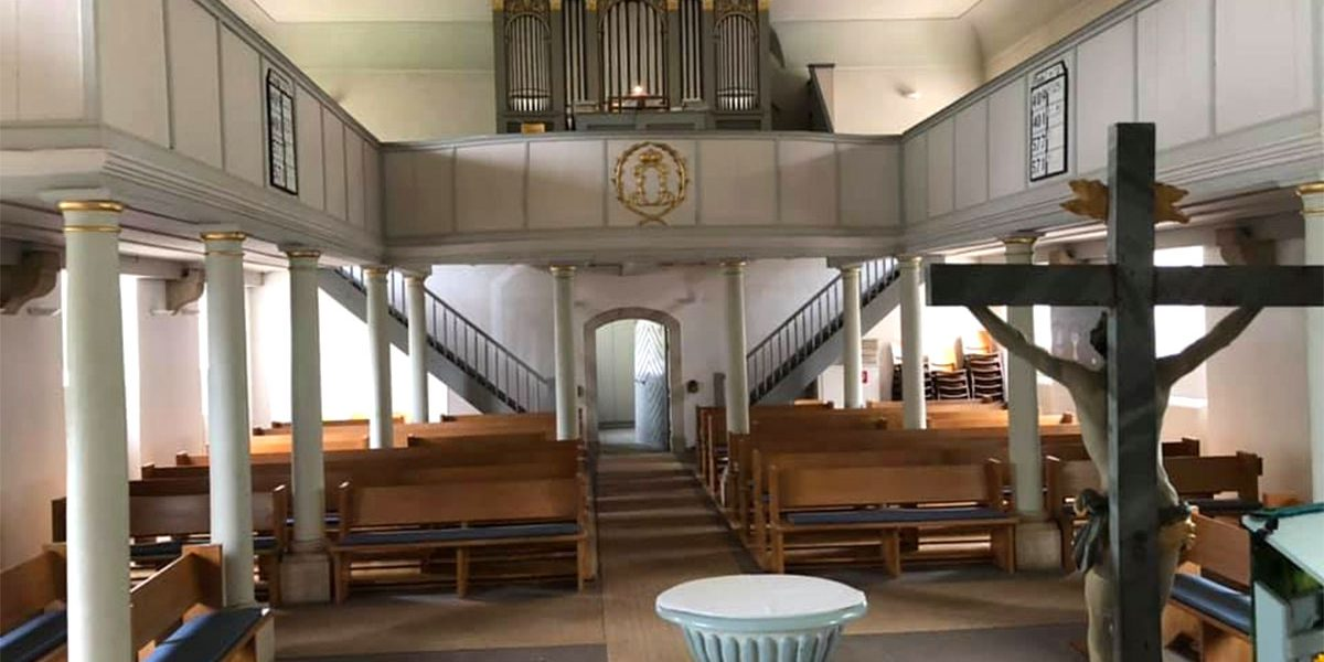 Inneres einer Kirche