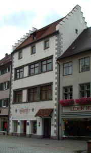 historisches Gebäude in einer Altstadt