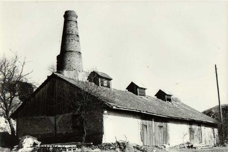 Historische Abbildung des Kalkofens