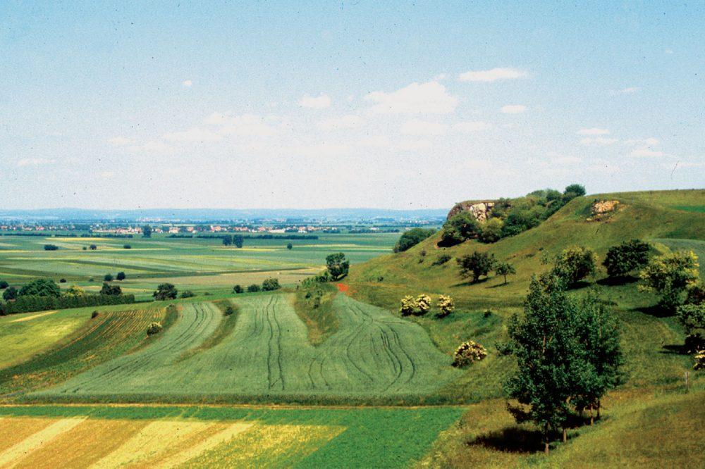 weiter Landschaftsausblick