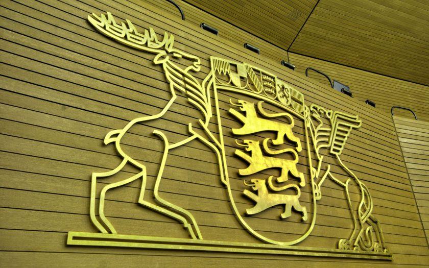 Wappen im Landtag von Baden-Württemberg