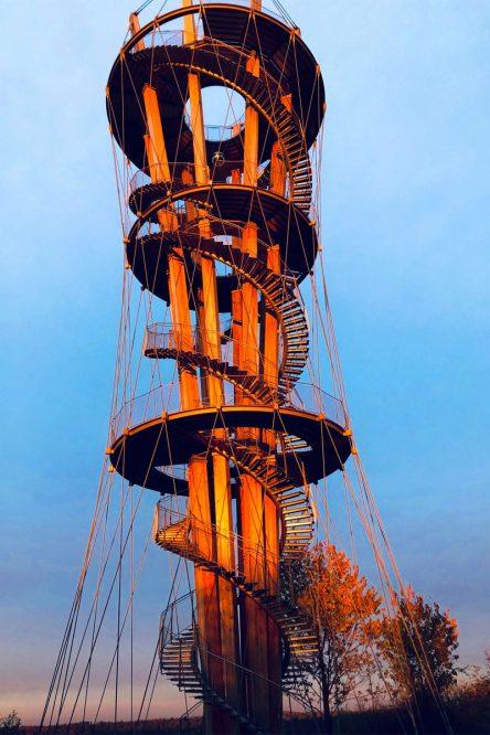moderne Turmkonstruktion