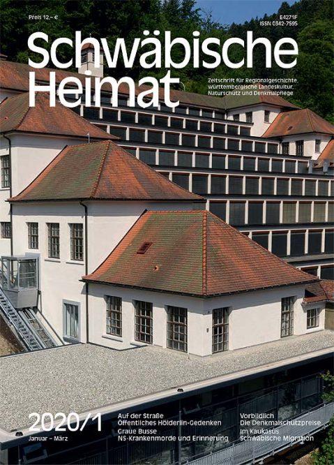 Ein Titelblatt der Schwäbischen Heimat