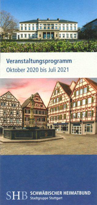 Titelbild des Jahresprogramms