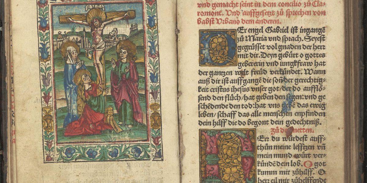 Doppelseite aus einem alten Buch